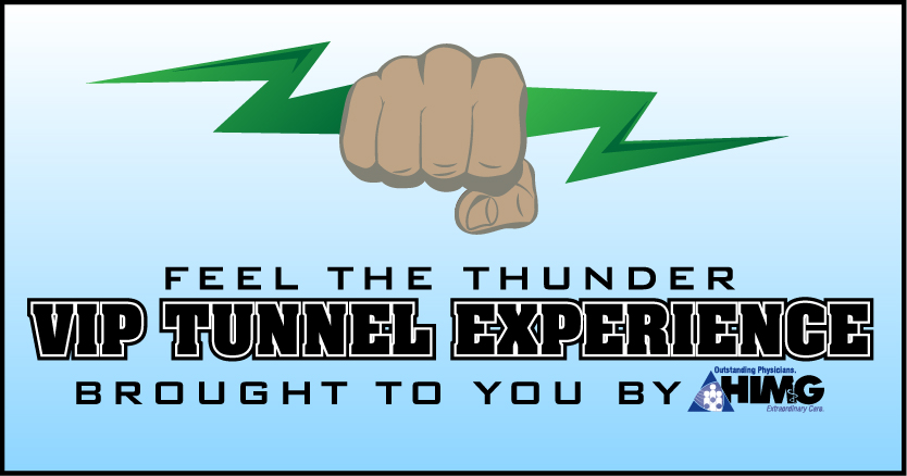Feel the Thunder VIP Tunnel Experience